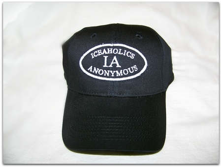IA Navy Flex Fit Ball Cap