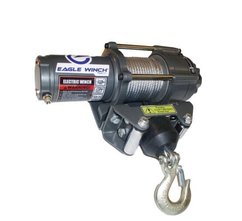 Eagle 2,500 lb. Steel Cable Winch