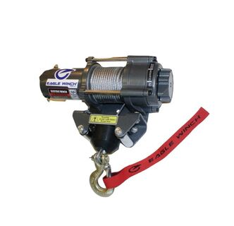 Eagle 3,500 lb. Steel Cable Winch