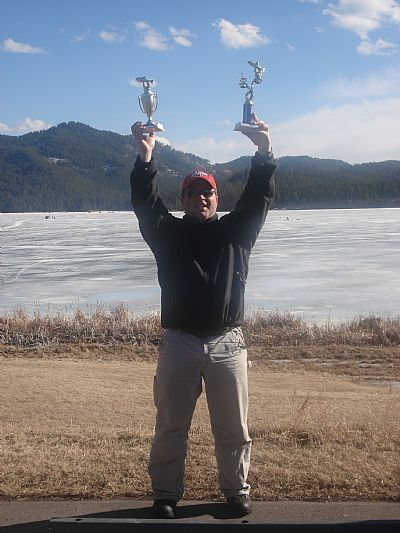 1st Place 2008 NML Ice Fishing Tournament