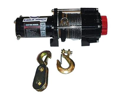 Eagle 2,500 lb. Synthetic Rope Winch
