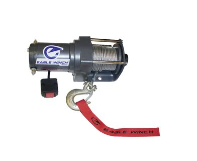 Eagle 2,000 lb. Steel Cable Winch