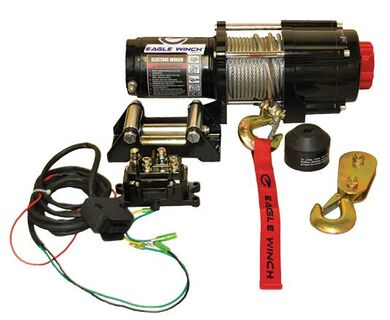 Eagle 4,500 lb. Steel Cable Winch