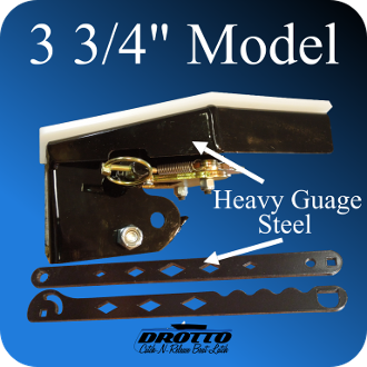 "3 3/4"" Drotto Catch-N-Release Boat Latch"