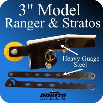 "3"" Drotto For Ranger and Stratos with Roller Add On"
