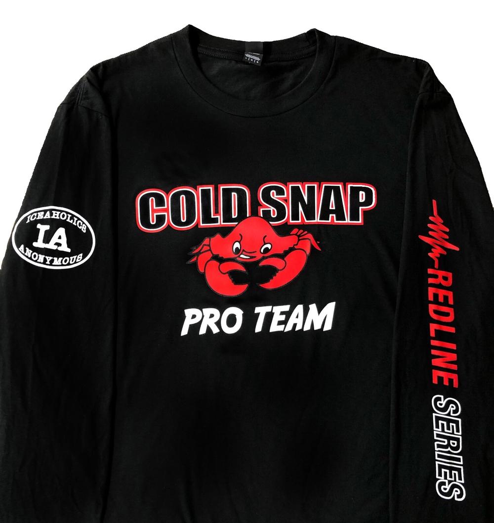 Cold Snap Pro Team Long Sleeve T-Shirt- Redline Series